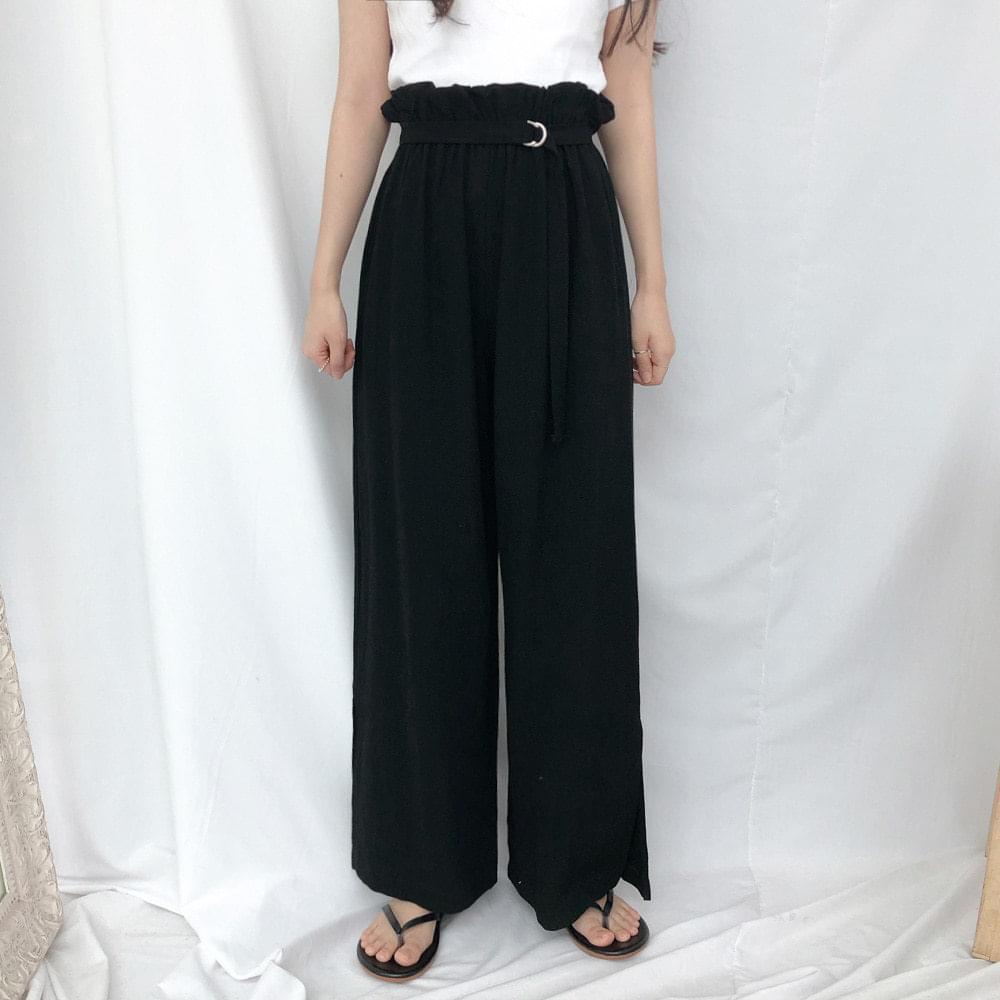 Sunny ring wide pants パンツ