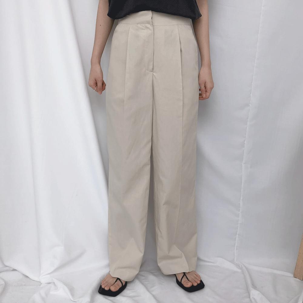 Pintuck Dry Slacks パンツ