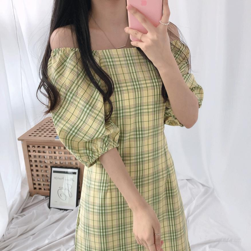 Mary Honey Slim Dress ワンピース