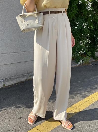 Tend belt set pants