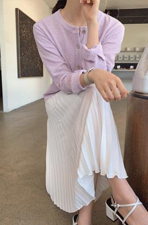 《Planned Products》 Summer Chiffon Pleated Skirt