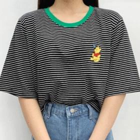 Pooh Dangara Crop Short Sleeve Tee 短袖上衣