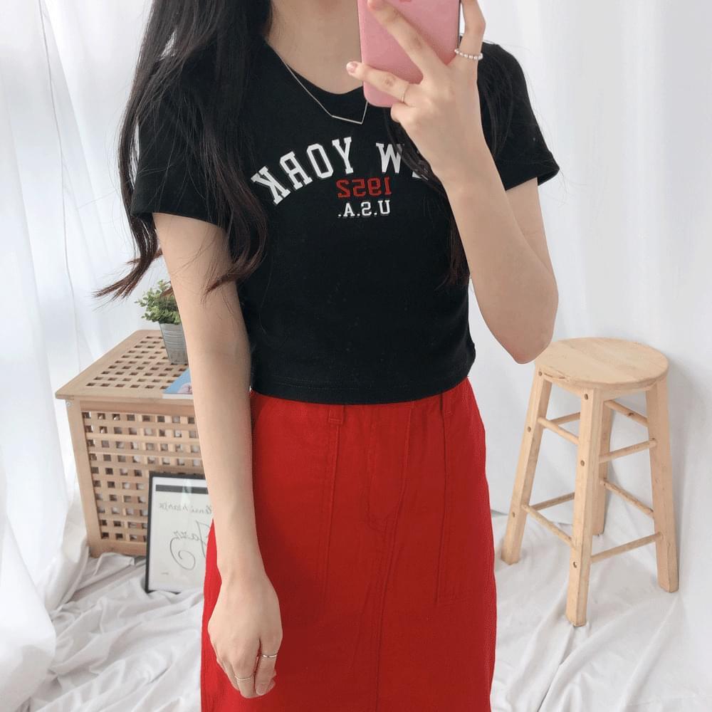 New York Slim Short Sleeve T-Shirt 半袖