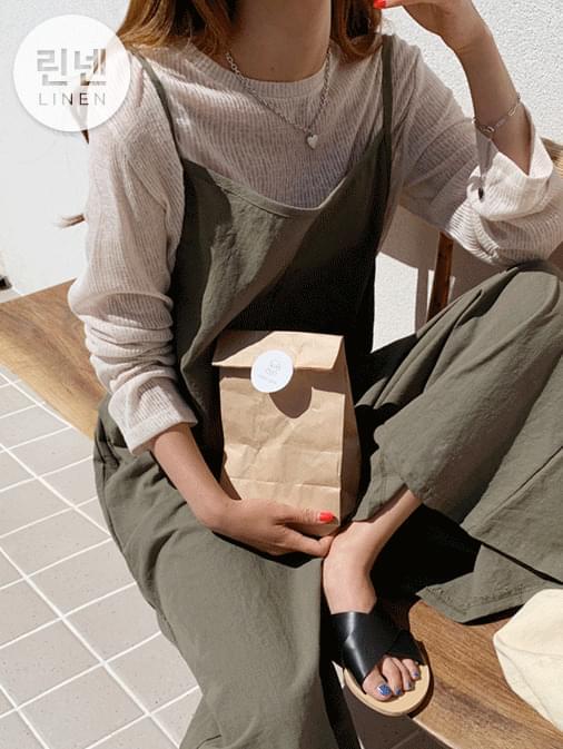 Linen MyBly Wide Jumpsuit