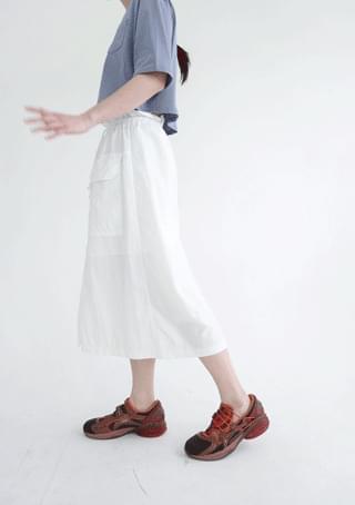 dry cotton pocket skirt