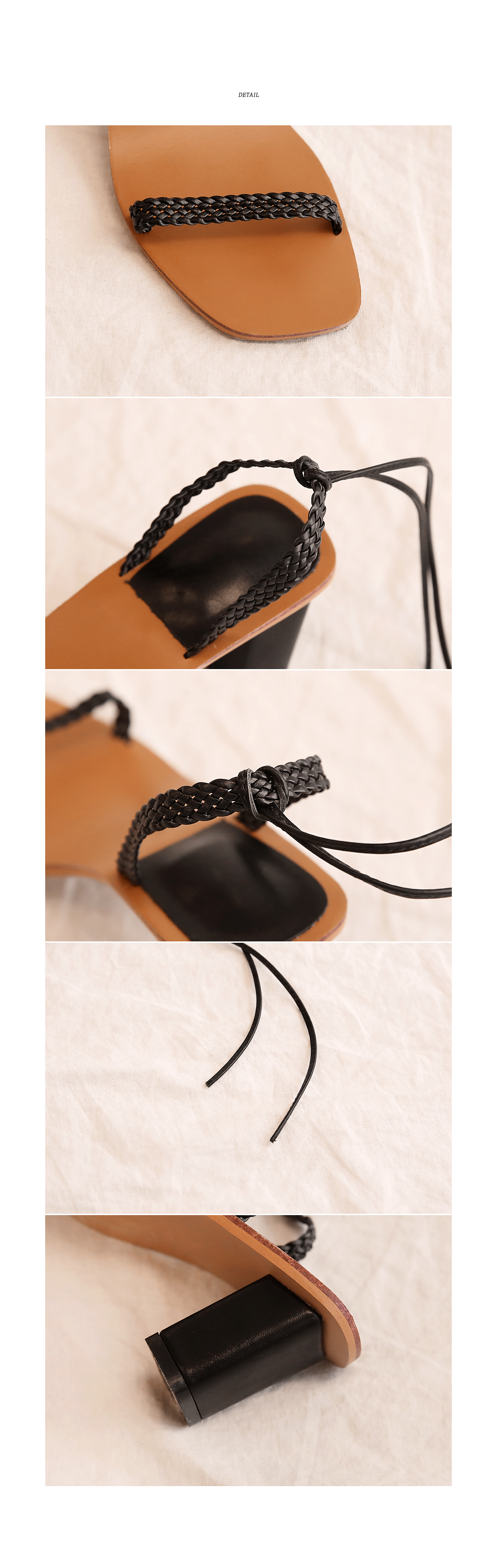 SORET LACE-UP MIDDLE HEEL