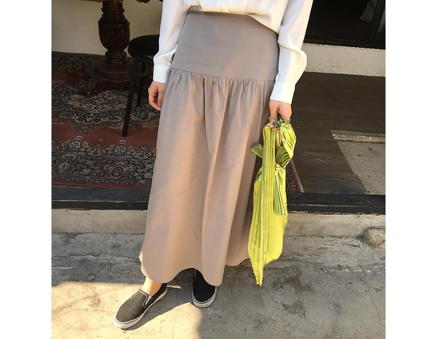 Made_bottom-097_yulia cotton skirt (size : S,M)