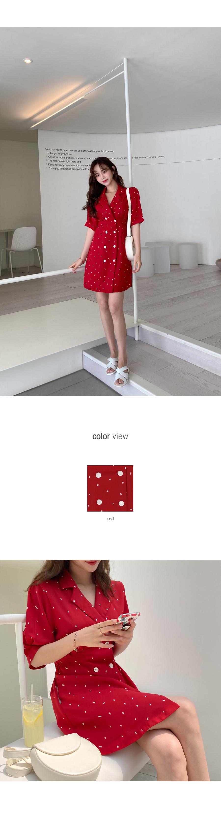 Dot love mini dress