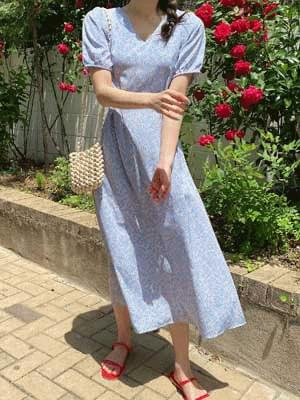 Woody Pin Tuck Dress