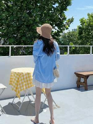 Fine Linen Shirt_Nashi SET