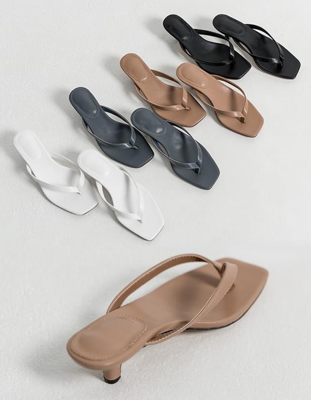 Keaton heel flip-flop shoes