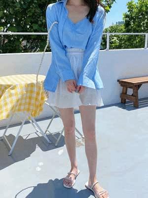 Morning skirt pants
