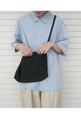 black line mini bag ショルダーバッグ