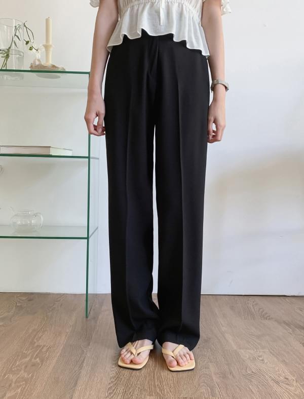 Basic High West Maxi Slacks 長褲