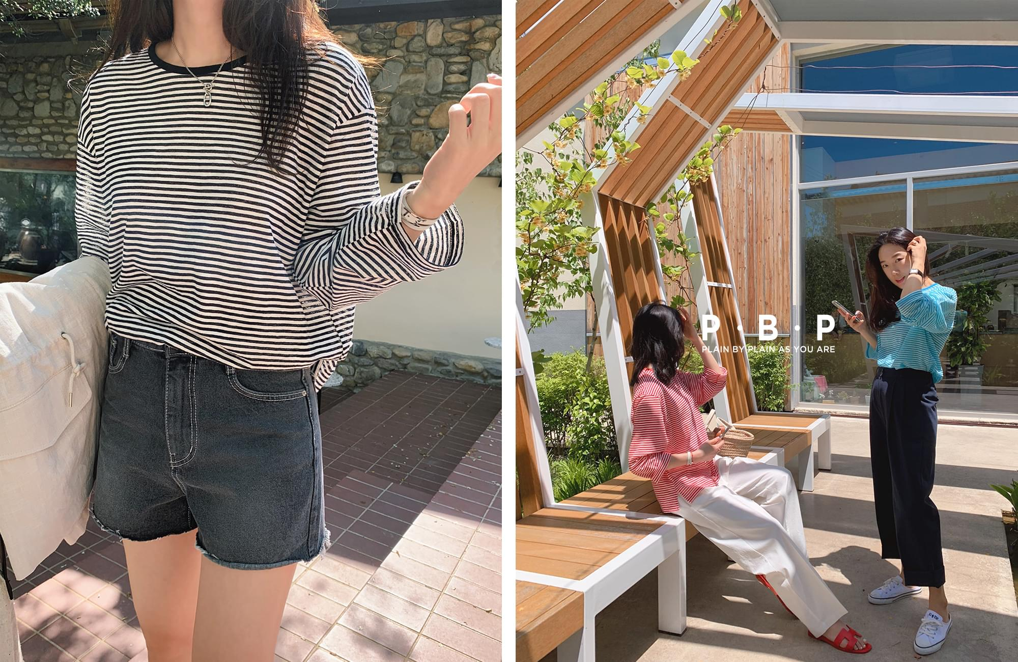 《Planned Products》 PBP.Cool Stripe Summer Tea