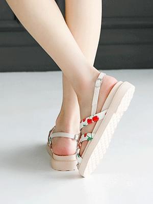 Fruit Fang Sling Bag Sandals 3cm 涼鞋