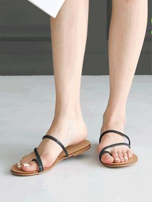 Bettys Slippers 1cm 涼鞋