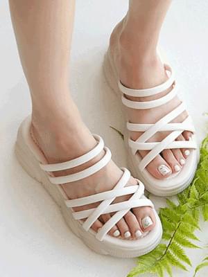Kaetsu platform slippers 4 cm 涼鞋