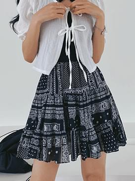 Bandana Sure Flare Skirt
