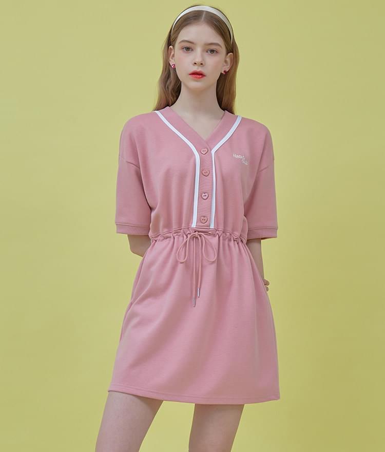 Heart Color Block Dress 洋裝