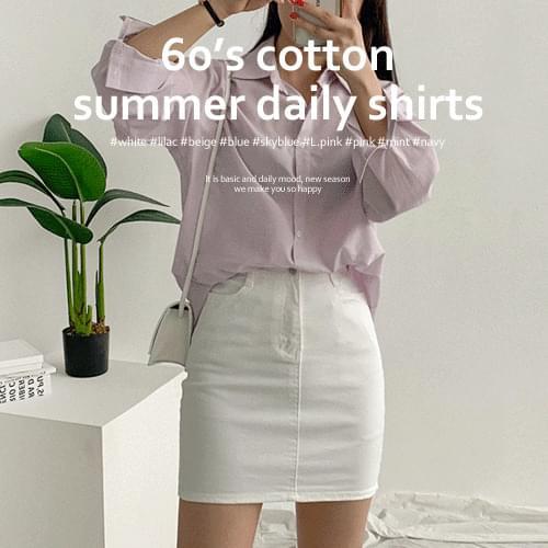 夏季基本型酷Asa襯衫