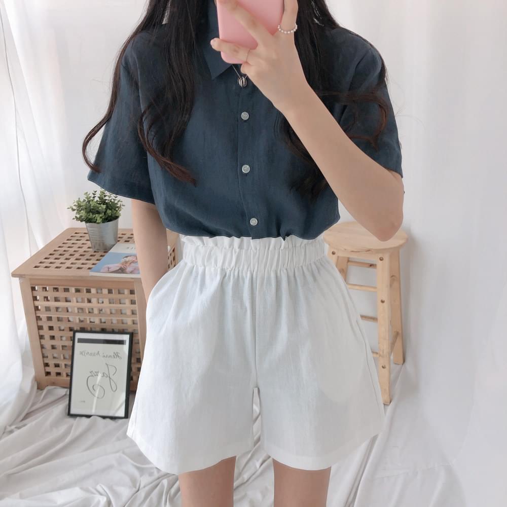 Day Linen Short Sleeve Southern Shirt