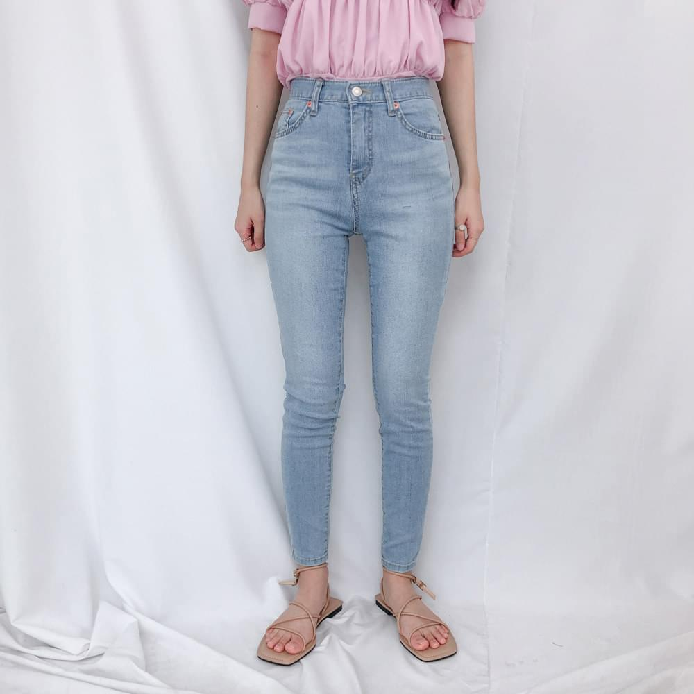 8566 Yeoncheong skinny jeans