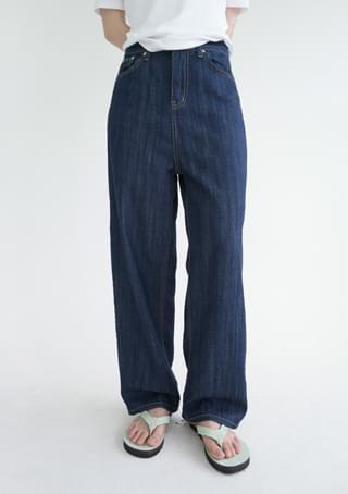 clean and cool denim pants 牛仔褲