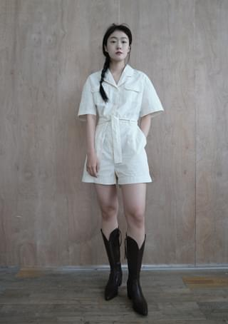 washed jump suit 洋裝