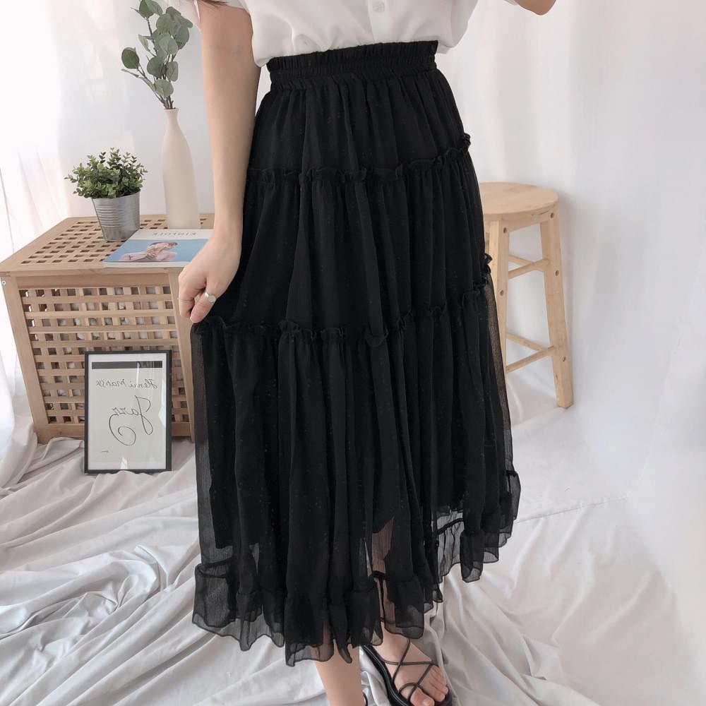 Posh Cancan Long Skirt