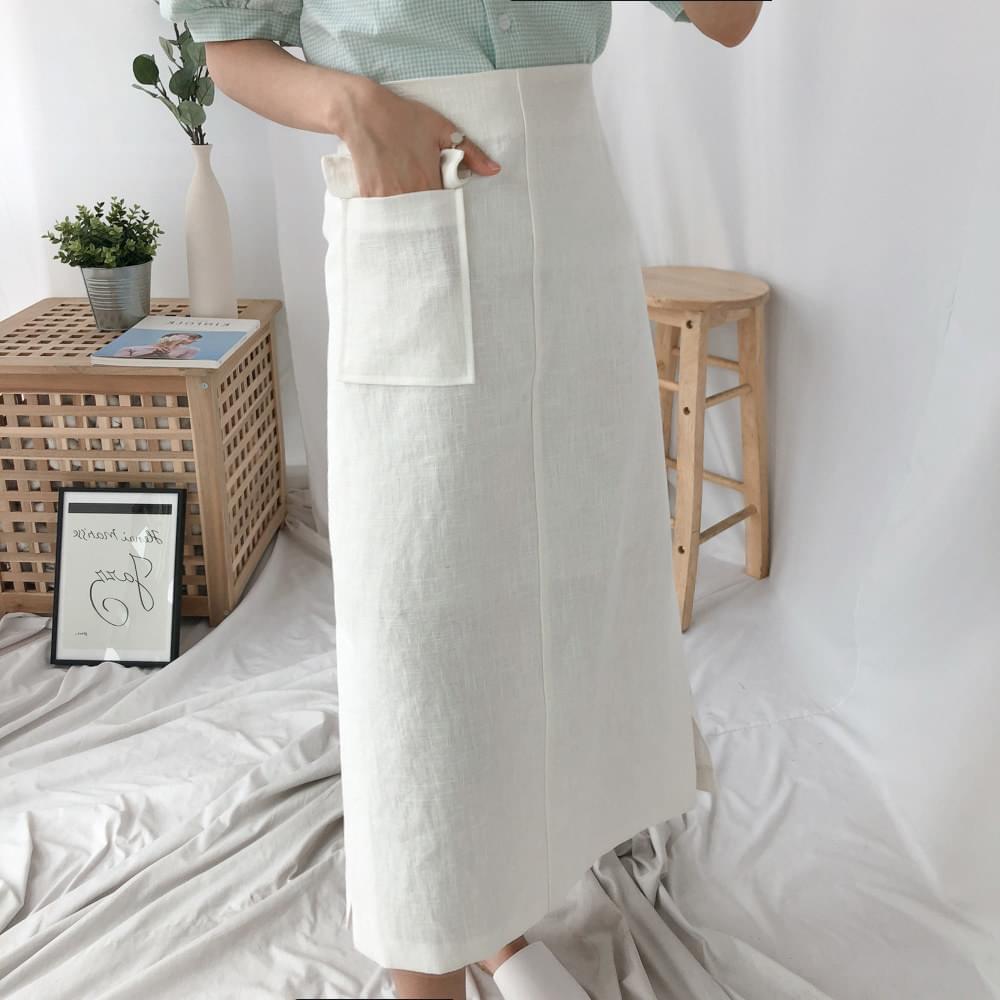 Raul Linen Long Skirt