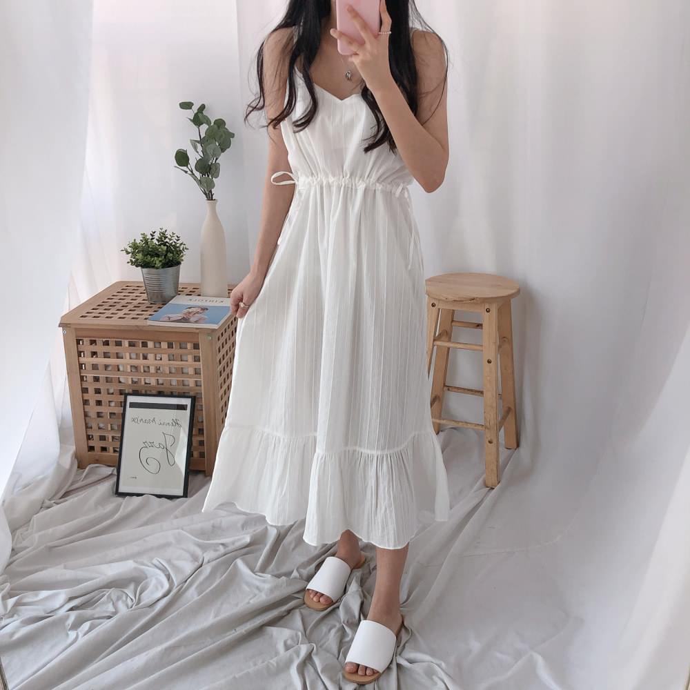 Murphy String Nashi Long Dress