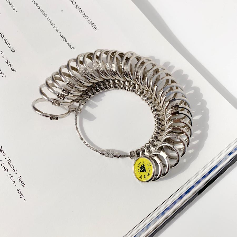 Ring size ring gauge ring gauge