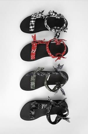 Bandana Velcro Sandals
