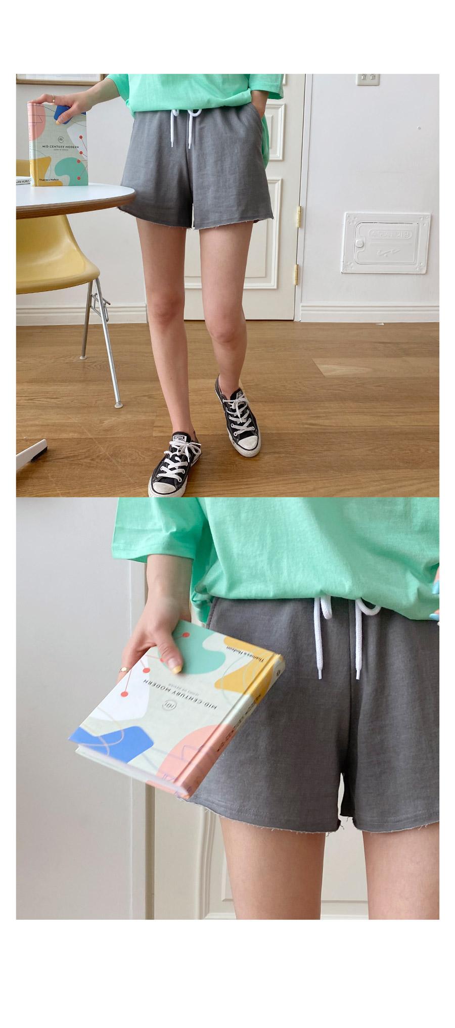 More Pigment Banding Short Pants