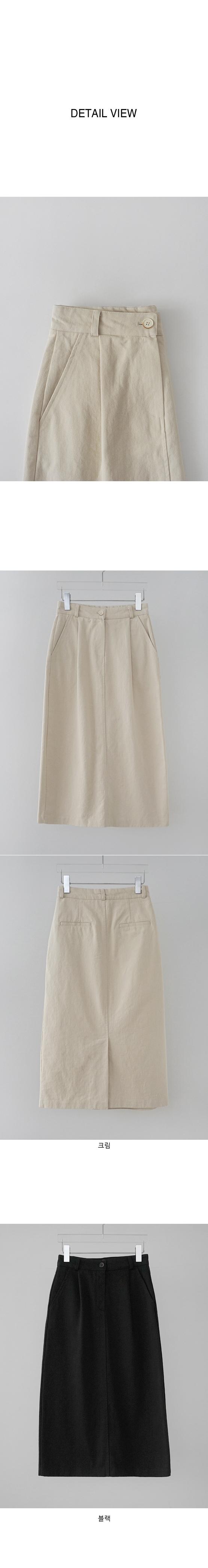 pintuck detail midi skirt
