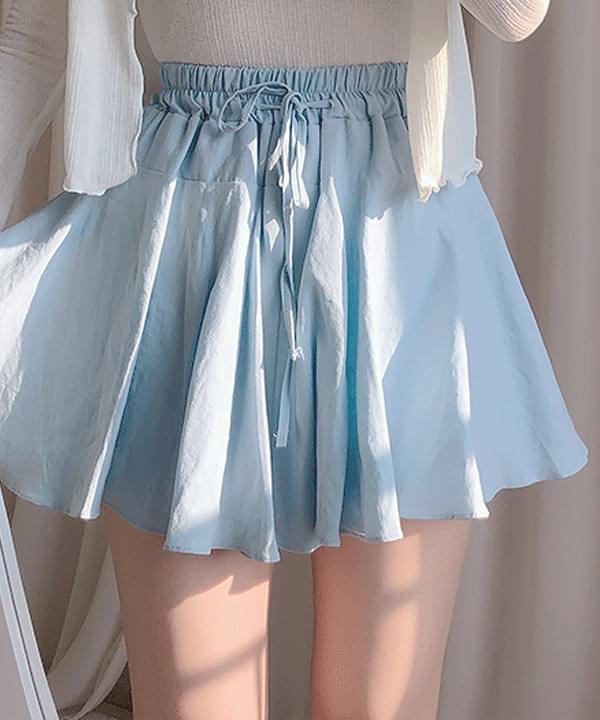 Linen Linen Skirt Pants