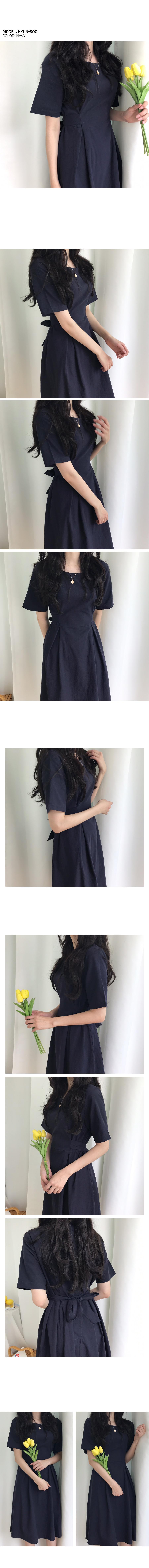Loven linen long dress