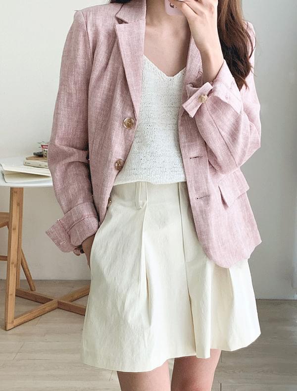 브릿 헤링본 자켓 (2color)