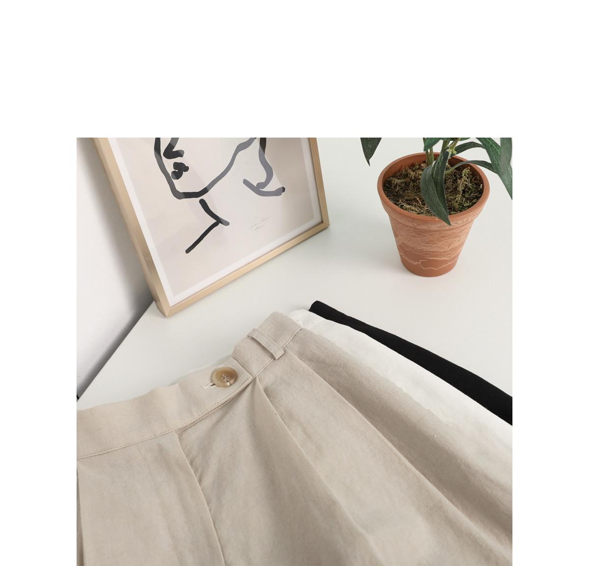 Moron wide linen pants