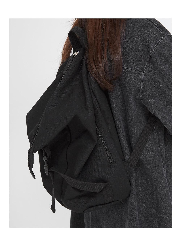 diagonal zipper line backpack