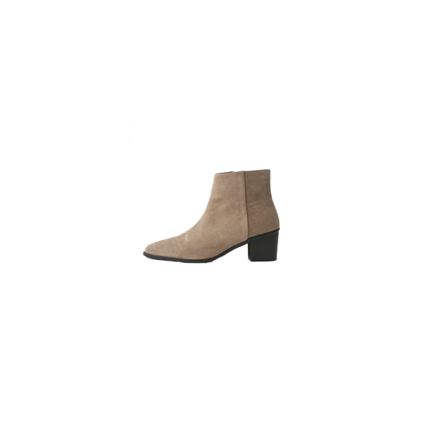suede western chelsea boots