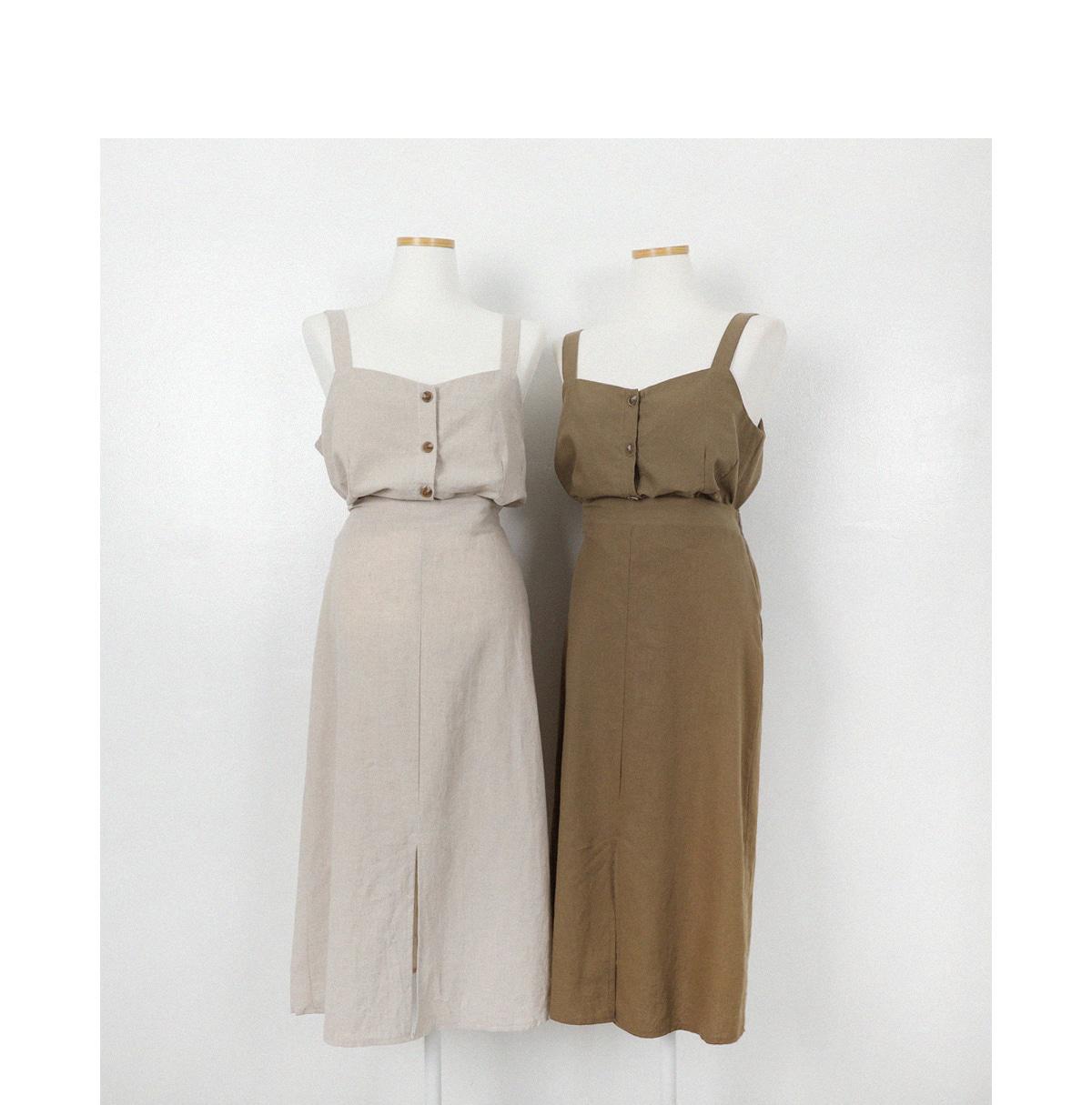 Neats linen long skirt