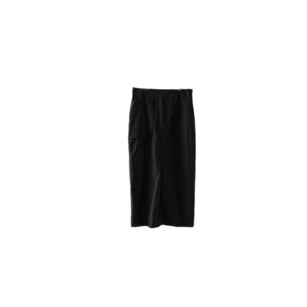 out pocket H-line skirt