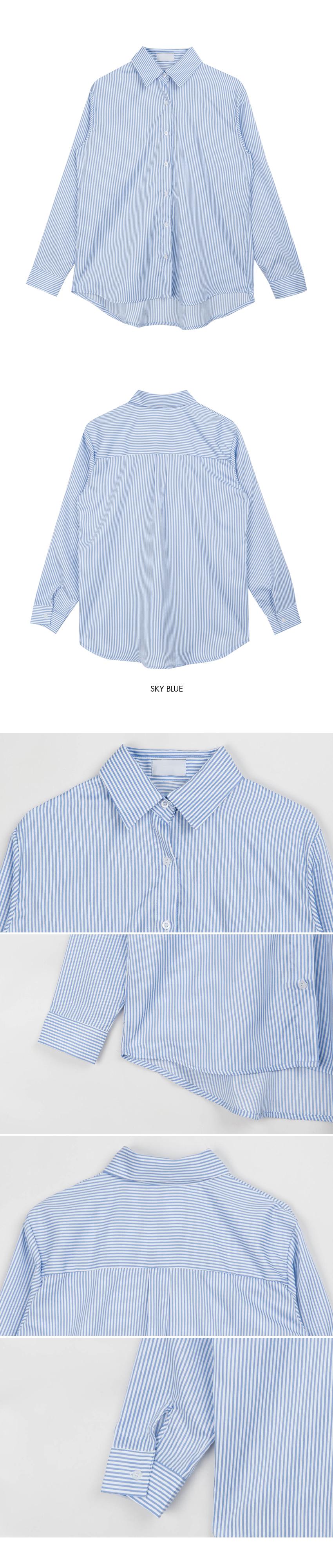 Daily striped shirt