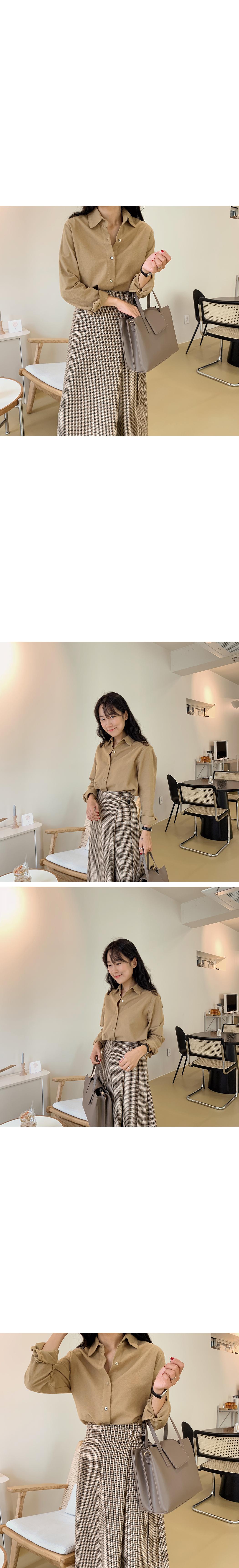 Wercheck Wrap Wool Skirt