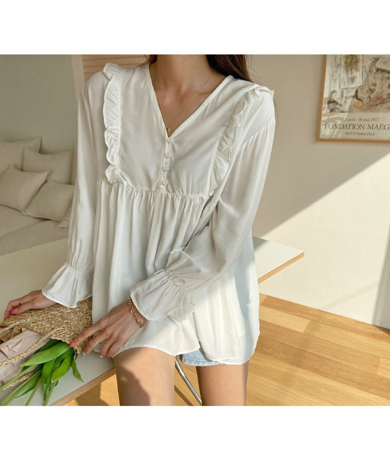 Roy's frill blouse