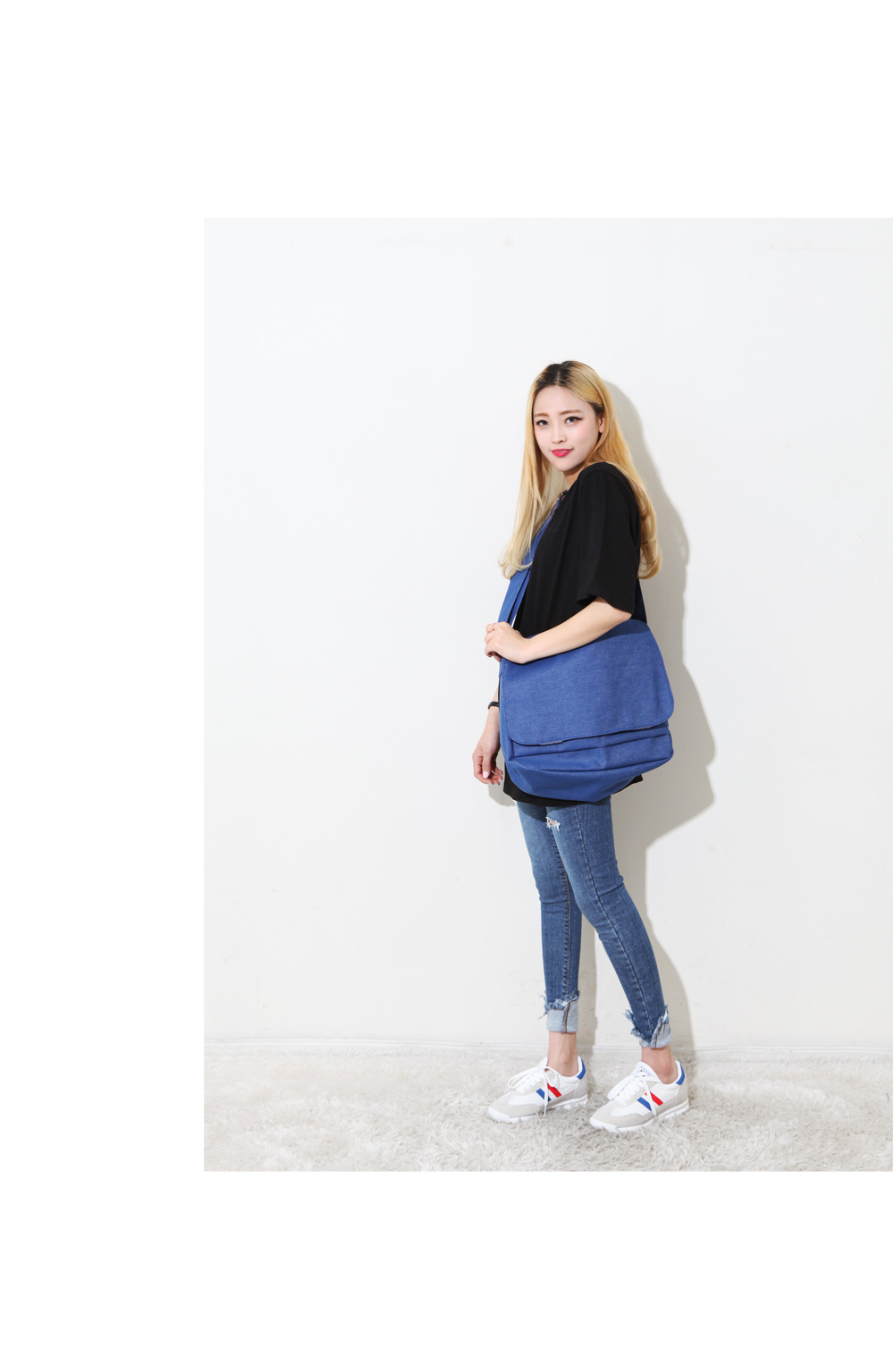 Peanut Canvas Cross Bag