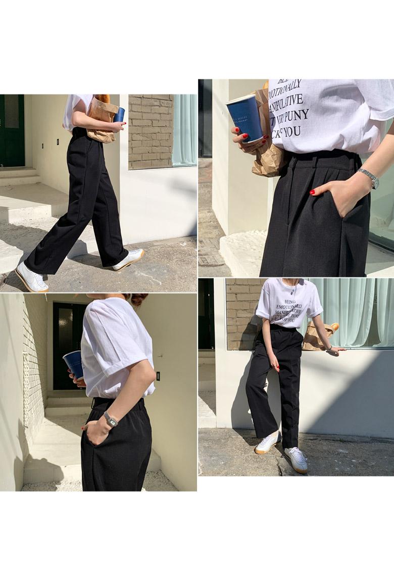 Of Lettering Short-sleeved T-shirt