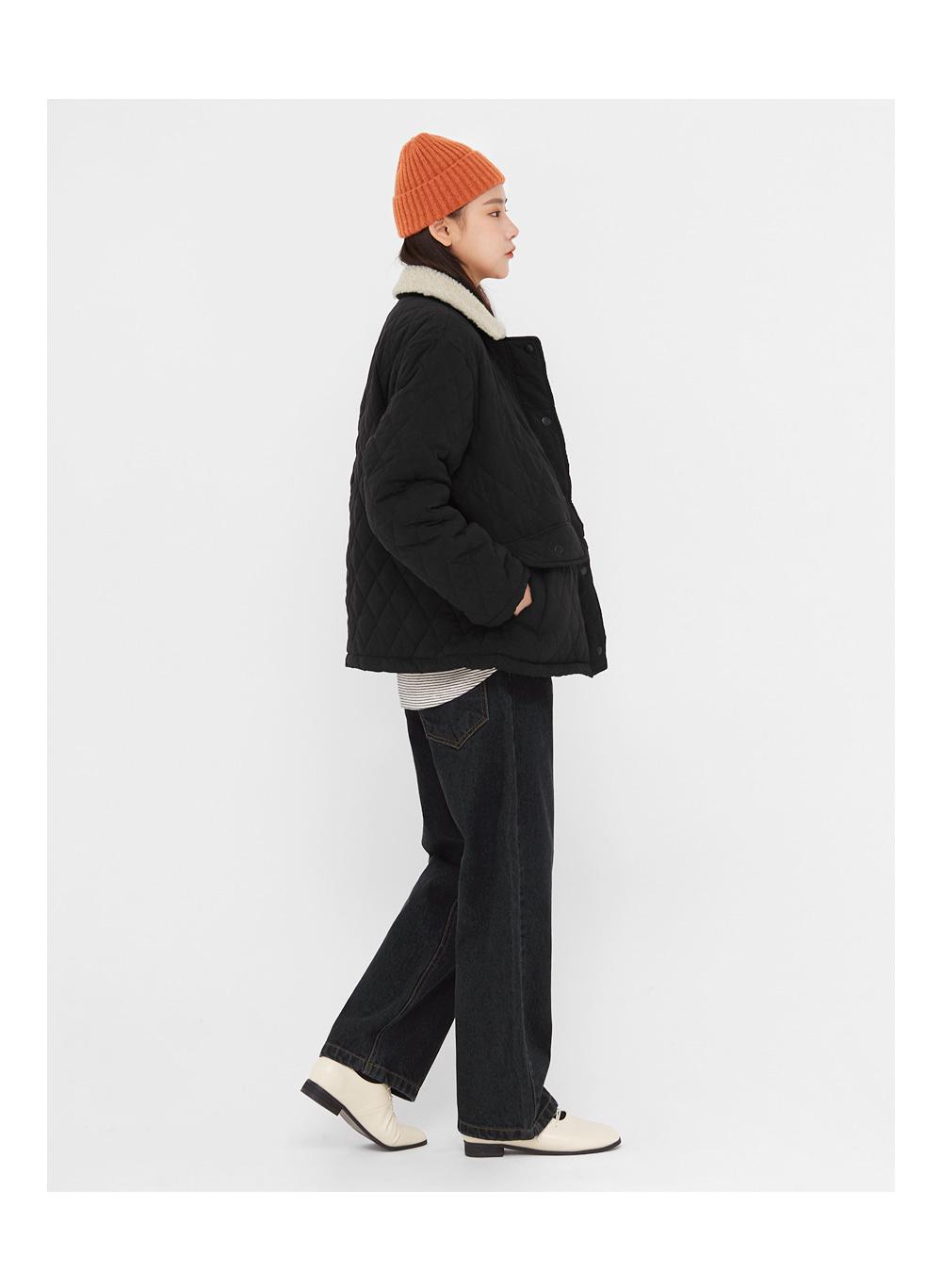 dia fleece quilting jumper